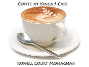 Coffee at Kinga S Cafe Monaghan