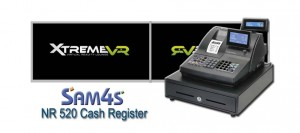 Cash Register Sam4s NR 520 Xtreme VR Monaghan