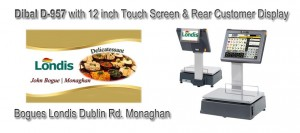 Bogues Londis Dublin Rd. Monaghan Labelling Scales