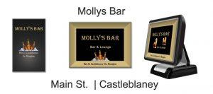 Bar Touch Screen System Mollys Bar Castleblaney