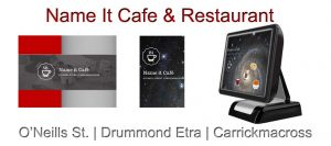 Cafe Restaurant Touch Screen System Name It Cafe
