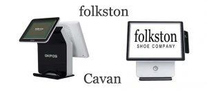 Retail Touch Screen System K9000 Folkston Shoe Company Cavan