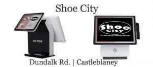 Retail Touch Screen System OK POS K9000 Shoe City Castleblaney