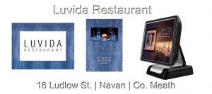 Restaurant Touch Screen System Luvida Restaurant Navan