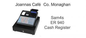 Sam4s ER940 Cash Register Joannas Café Monaghan