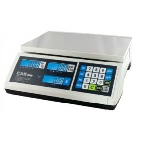 Cas ER JUNIOR Retail Weighing Scales 15Kg