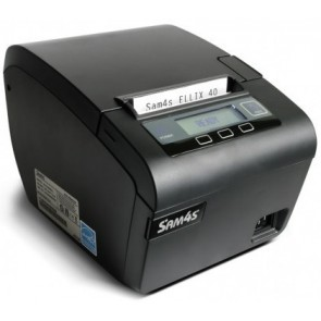 Sam4s Ellix 40 Usb  Serial  & Usb Parallel Receipt Printer