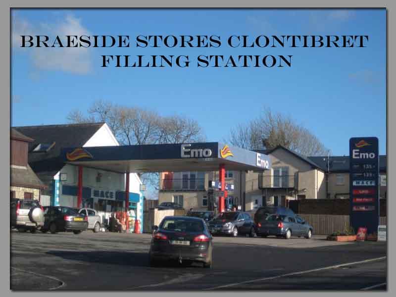 Braeside Stores Filling Station Clontibret Monaghan
