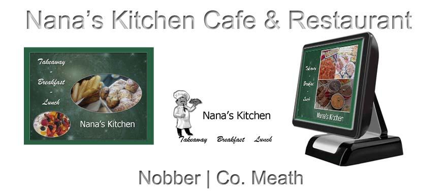 Cafe Restaurant Touch Screen System Nana's Kitchen Nobber Navan Meath