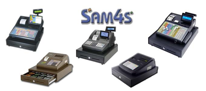 Sam4s Cash Registers