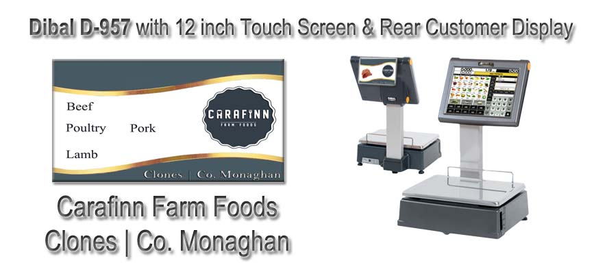 Dibal D957 Labelling and Labelling Scales Carafinn Farm Foods