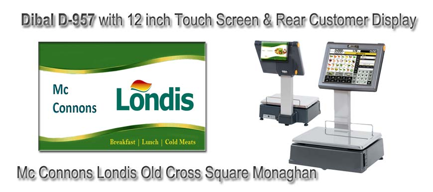 Dibal D957 Labelling Scales Mc Connons Londis Old Cross Square Monaghan