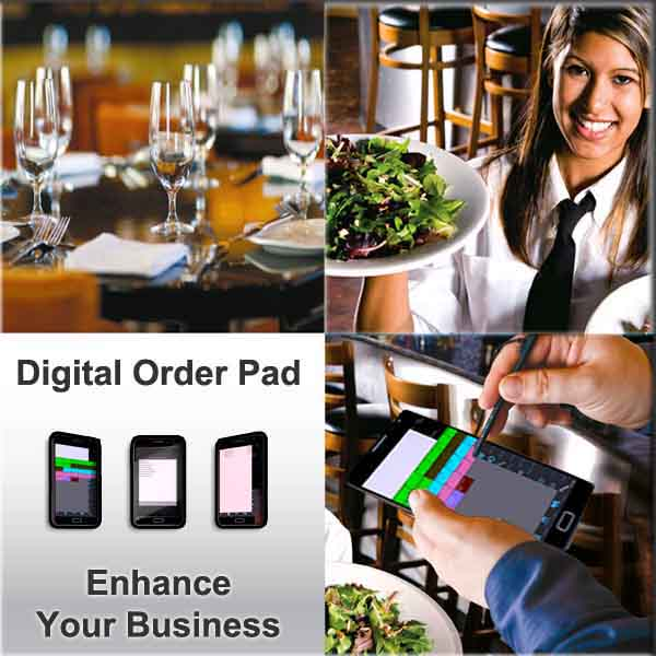 Handheld Digital Ordering Pad