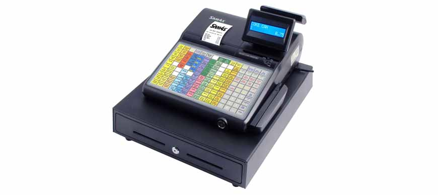 Sam4s ER 920F Cash Register