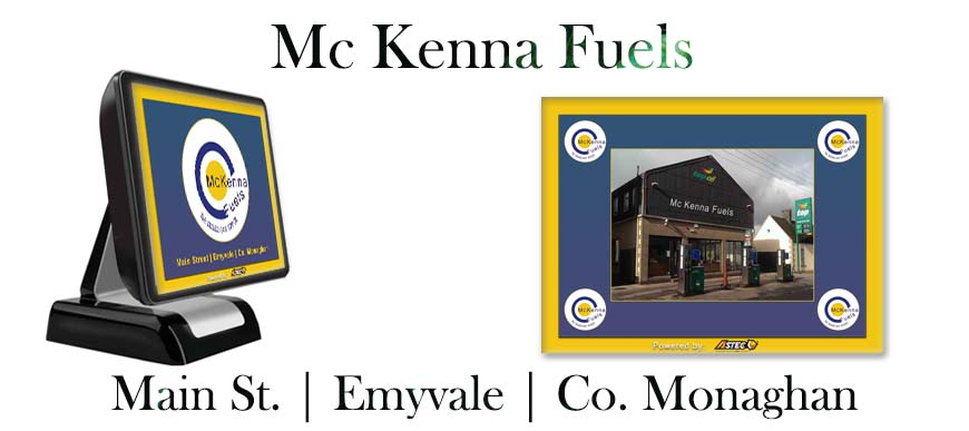 Filling Station ePOS Mc Kenna Fuels Emyvale, Co. Monaghan