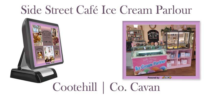 Icr Cream Parlour ePOS System Side Street Cafe Cootehill Cavan