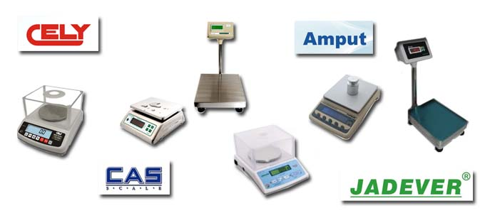 Industrial Weighing Scales Amput, Cely, Cas, Jadever