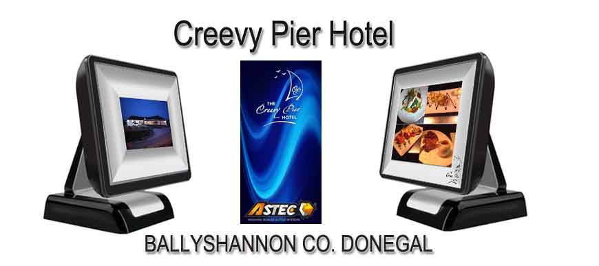 ePOS System for Creevy Pier Hotel Ballyshannon Co. Donegal