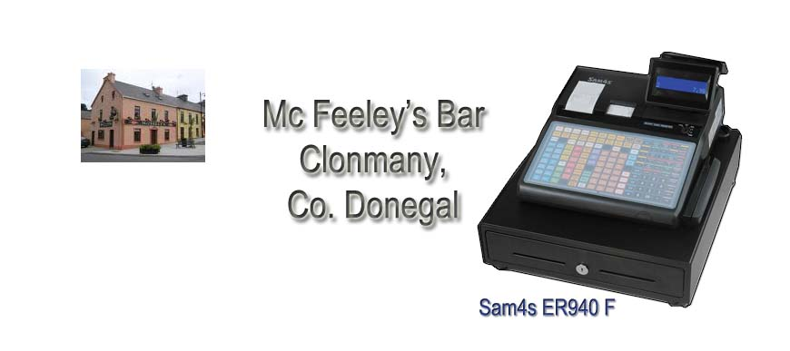 Mc Feeley's Bar Clonmany, Donegal