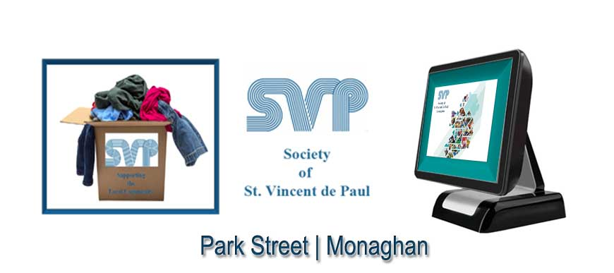 ePOS Touch Screen System St Vincent De Paul Monaghan