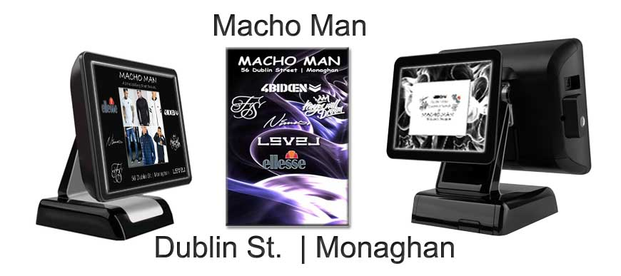 Retail Touch Screen System Mach Man Dublin St. Monaghan