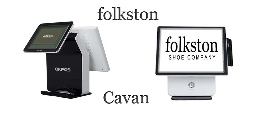 Retail Touch Screen System OK POS K900 Folkston Shoe Company Cavan