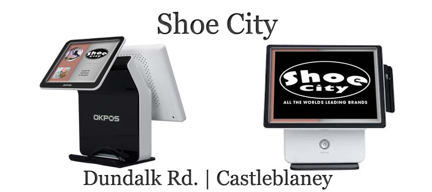 Retail Touch Screen System Shoe City Castleblaney, Co. Monaghan