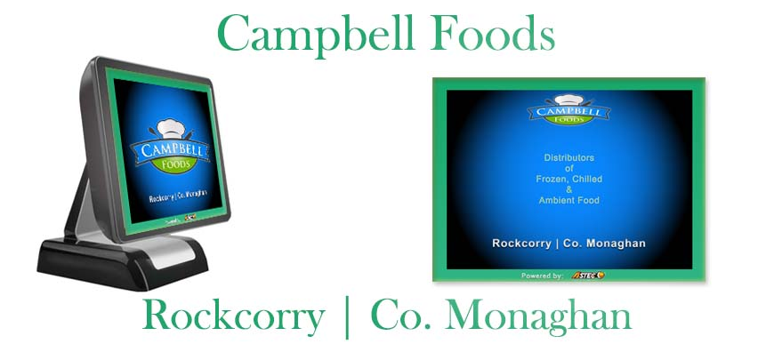 Retail Wholesale Food ePOS System Campbell Foods Rockcorry Monaghan