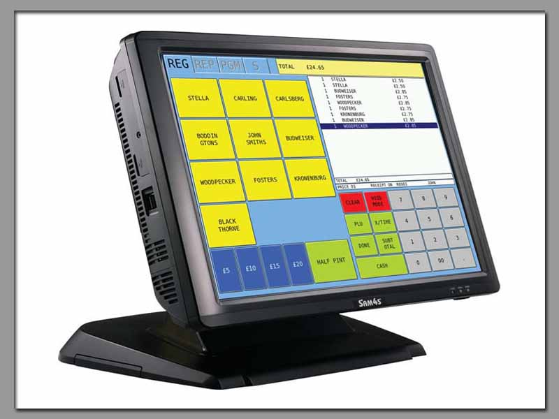Sam4s SPS2200 Touch Screen