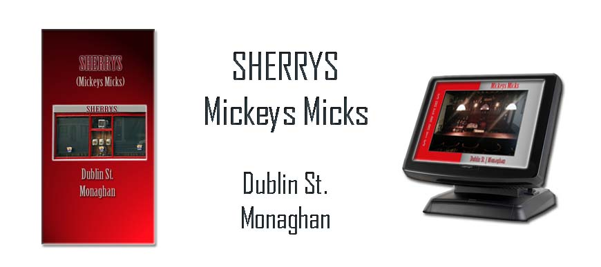 Bar ePOS Touch Screen Sherrys Mickeys Mick Monaghan