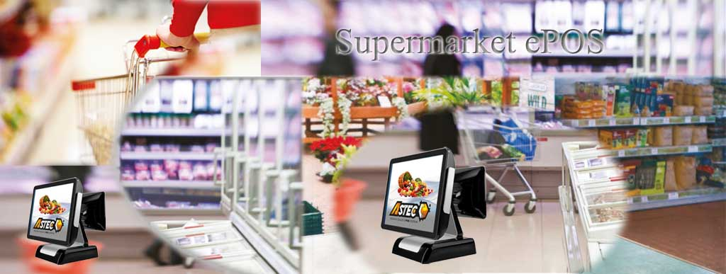 Supermarket Retail Touch Screen System