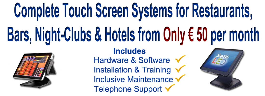 Touch Screen Rentals