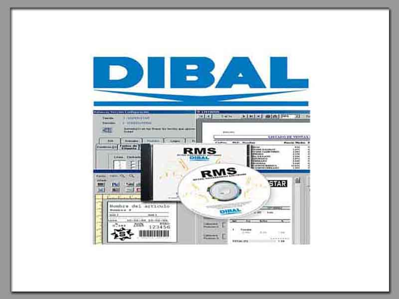 Dibal RMS Weighing Scales Software