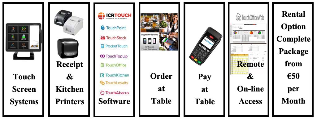 Rent ePOS Touch Screen System