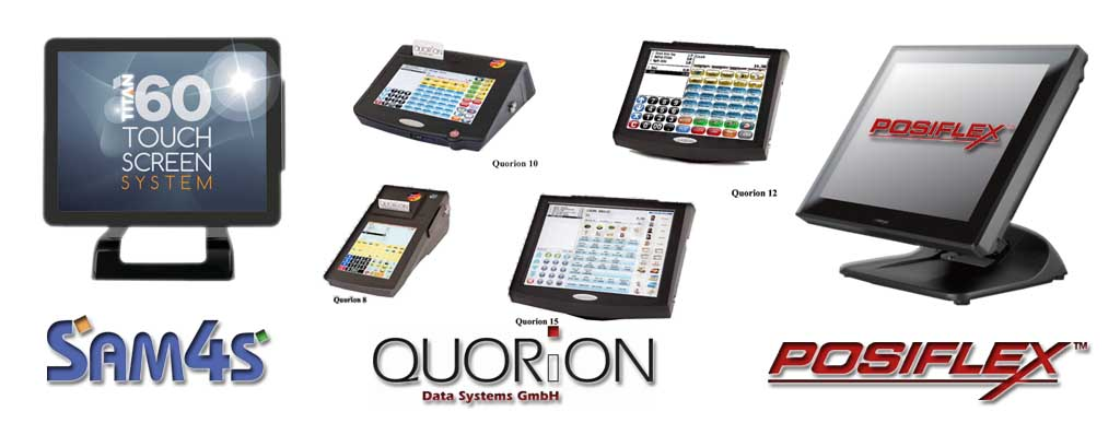 ePOS Touch Screens Sam4s Quorion Posiflex