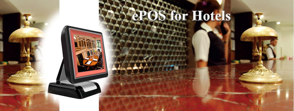 Hotel ePOS Touch Screen System