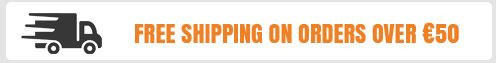 Free Shipping on orders over €50