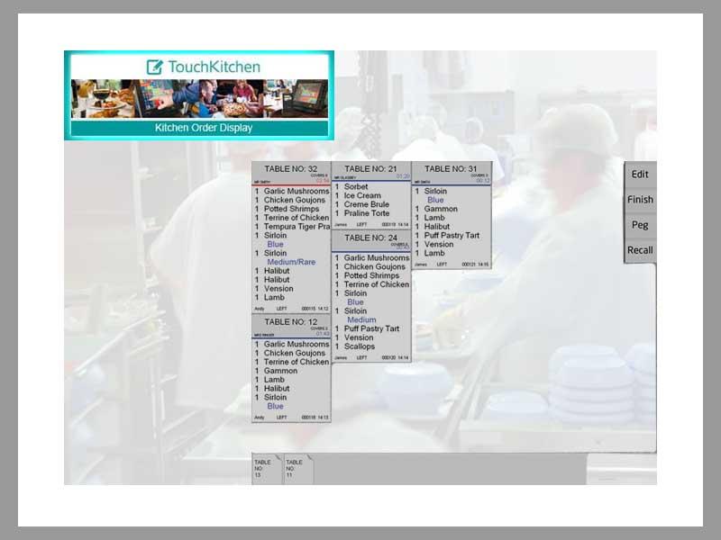 ICR Touch Kitchen Display