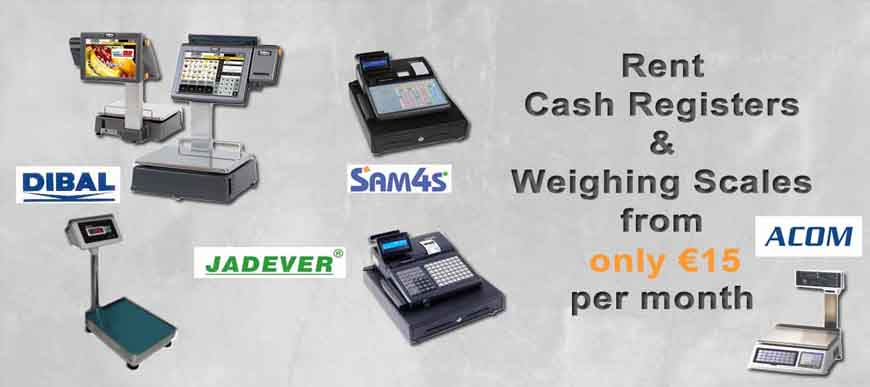 Cash Register and Weighing Scale Rental