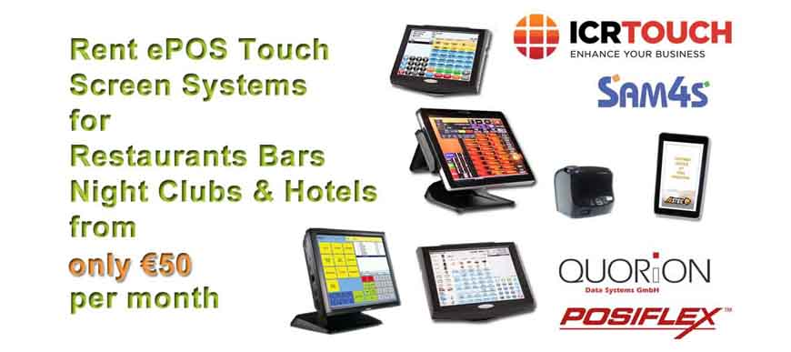 Touch Screen Systems for Hospitality Business
