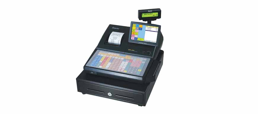 Sam4s SPS 520F Touch Screen Cash Register